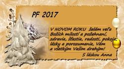 PF 2017 - K Novému roku 2017