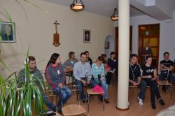 DSC_0482.JPG - Manželská duchovná obnova 18.-20.10.2013 v Zakopanom (Poľsko) pred prijatím charty