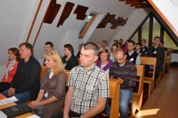 DSC_0490.JPG - Manželská duchovná obnova 18.-20.10.2013 v Zakopanom (Poľsko) pred prijatím charty