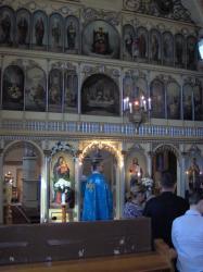 w kościele po przyjęciu Karty.jpg - Prijatie Charty 1.10.2011