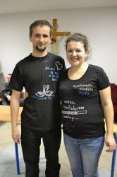 DSC_0626.JPG - Vzájomné manželské obdarovanie sa vlastnoručne namaľovaným tričkom