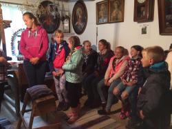 Prehliadka múzea v Lendaku -