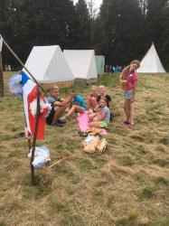 Skautský tábor -