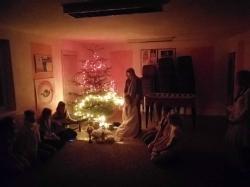 Vianočné stretnutie. -