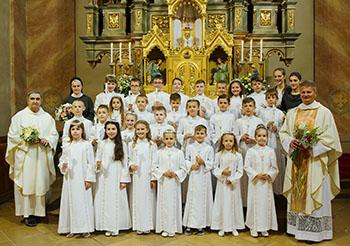 3f460d137 Prvé sväté prijímanie - Dianie   Farnosť Záhorská Bystrica   Moja Komunita