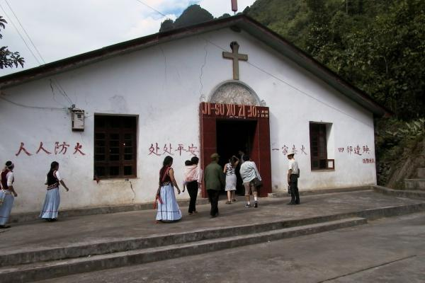 The story of an underground Catholic priest in China
